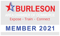 Burleson Area Chamber of Commerce Member 2021